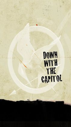 Down With The Capitol - Hunger Games