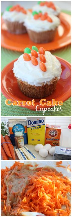 I like this presentation for Easter, just using my regular carrot cake recipe.