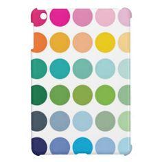 Colored Dots iPad Mini Case