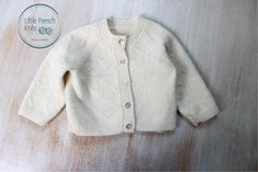 Baby Knitting Pattern Cardigan Sweater Wool French Instructions PDF Sizes Preemie to 24 months Baby Knitting Patterns, Baby Cardigan Knitting Pattern, Baby Patterns, Cardigan Bebe, Cotton Cardigan, Sweater Cardigan, Cashmere Yarn, Knitted Baby Clothes, Baby Vest