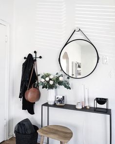 """1,084 Likes, 2 Comments - AllModern (@allmodern) on Instagram: """"Minimalist entryway goals brought to you by @homeyohmy . #linkinprofile #mymodern"""""""