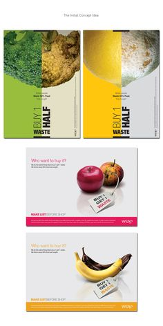 Food Waste Campaign : Don't be a Lemon! on Behance