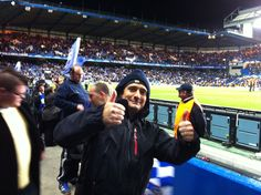 Pietro at Chelsea vs. Genk Champions League football