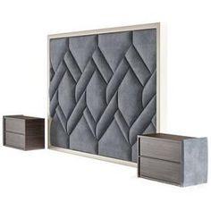 Bed Headboard Design, Modern Headboard, Bedroom Door Design, Bedroom Furniture Design, Headboards For Beds, Bed Cushion Design, Modern Luxury Bedroom, Luxurious Bedrooms, Bed Back Design