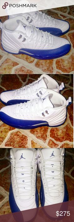 Mens Jordan 12 french Blue Size 12.5 ****Clean Scene Stepper Edition****  **5 star fresh rating**  Come enjoy a sought after a highly anticipates Jordan 12 French Blue. When these shoes first dropped there was massive hysteria. Line so long it covered two blocks.But the smart guys play it safe as these were purchased from the one and only Flight Club. Guaranteed 100% authentic and stamped with a certified fresh.  Brand new without box Never been worn(verified by pictures) Purchad from flight…
