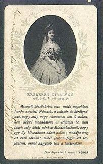 Empress Elisabeth of Austria on a hungarian postcard by Miss Mertens, via Flickr