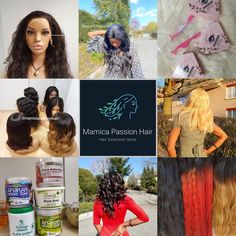 A highly recognized Hair Extensions Store since 2019, founded by Maimica, Mamica Passion Hair. I'm committed to providing you with high-quality hair deals at incomparable prices, as well as with the service and attention you deserve. Give me a call and make your day so much better. My goal is to make sure you get the best quality so you walk out as the best version of yourself. Contact me today and treat yourself to any one of my services! Hair And Nail Salon, Hair And Nails, Natural Wigs, Natural Hair Styles, 100 Human Hair, Human Hair Wigs, Passion Hair, Upcoming Events, Grow Hair
