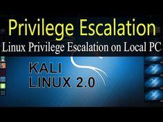 Linux Privilege Escalation on Local PC Ubuntu 15.04
