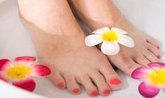 Baño de calor con jengibre y enebro para relajar tus pies