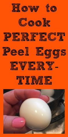 Perfect peel eggs everytime