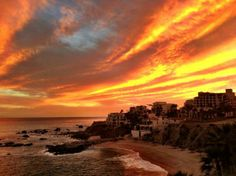 Welk Resorts Sirena Del Mar: Sunset view from Sirena Del Mar, Cabo San Lucas