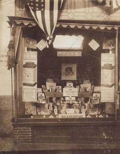 A local pharmacy in New Brunswick, N.J. in 1912.