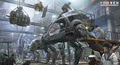 Gamasutra - Features - Inside the striking art and design of Hawken