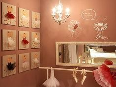 This is the cutest ballerina bedroom.