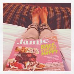 Day #68 - relaxing in my hotel room at the end of a long day with my new @jamiemagazine