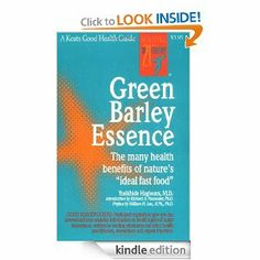 "Green Barley Essence (Good Health Series) by Yoshihide Hagiwara. $2.81. Publisher: McGraw-Hill; 1 edition (October 11, 1998). Author: Yoshihide Hagiwara. 22 pages. The all-natural ""fast food"".                            Show more                               Show less"