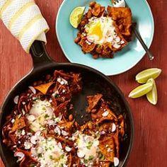 Pinto Bean Chilaquiles Recipe