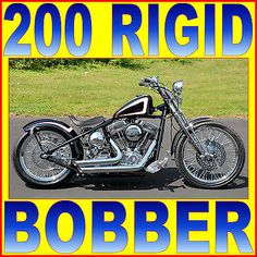 American Classic Motors : 200 TIRE BOBBER NEW 2015 AMERICAN CLASSIC MOTORS ACM 200 TIRE HARDTAIL RIGID BOBBER CHOPPER V&H - BUY NOW ONLY 17875.0