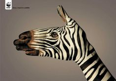 Unbelievable hand painting ads by Guido Daniele