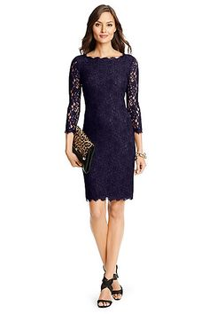 I love lace, but only in black or navy.
