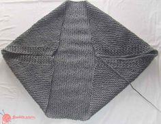 chaqueta kimono (2) de punto Kimono Crochet, Crochet Jacket, Crochet Cardigan, Crochet Shawl, Crochet Stitches, Knit Crochet, Knitting Designs, Knitting Patterns, Kimono Jacket