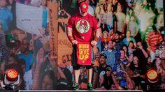 What is John Cena's story? Wwe Live Events, Wwe Total Divas, Story Video, Free Agent, John Cena, Kuala Lumpur, Wrestling, Baseball Cards, October 10