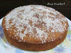 La cocinera de Bétulo: BIZCOCHO DE COCO Vanilla Cake, Muffin, Breakfast, Desserts, Food, Coconut Brownies, Sweet Recipes, Cookies, Pastries
