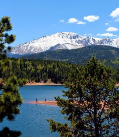 Pikes Peak in Colorado Springs!