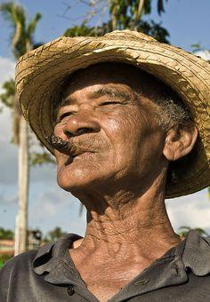 Old Man in Vinales, Cuba