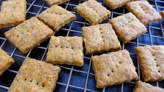 Whole-wheat, Cheddar Cheese, Poppy Seed Crackers