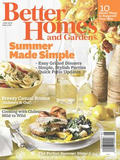 Our June issue is all about entertaining!