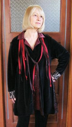 Plus Size Tunic / Dressy Velvet by maisestudio on Etsy, $117.00
