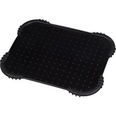 """Harmony+Black+Skid+Stop+Dog+Placemat,+18""""+L+X+15""""+W+-+Harmony+Black+Skid+Stop+Dog+Placemat+protect+your+flooring+from+your+dog's+water+and+food+spills - http://www.petco.com/shop/en/petcostore/product/harmony-black-skid-stop-dog-placemat-18-l-x-15-w"""
