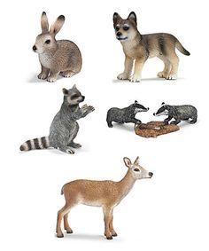 Look what I found on #zulily! Forest Animal Figurine Set by Schleich #zulilyfinds