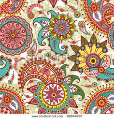 indian paisley designs - Google Search