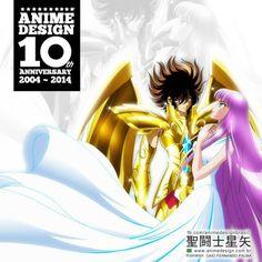 Seiya and Saori by Anime Design