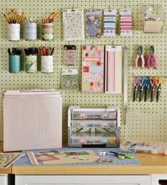 craft room ideas and layouts | Seu Atelier de Costura Organizado