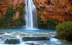 Water Fall Lake Havasu Arizona | Free HQ Havasu Falls Arizona Wallpaper - Free HQ Wallpapers
