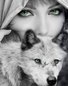 Finally a nice picture without big names all over ruining it. No lady wolf at all here. Beautiful Wolves, Animals Beautiful, Cute Animals, Beautiful Eyes, Wolf Images, Wolf Pictures, Fantasy Wolf, Fantasy Art, Hippe Tattoos