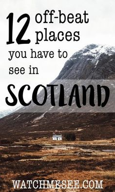 Think you've seen Scotland after a trip to Edinburgh, Skye and the Highlands? Think again! Here is my off-beat Scotland bucket list for 2017!