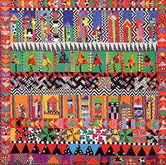 Freddy Moran's row quilt