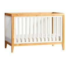 Tatum Convertible Crib, Blonde.  On special for $499 (normally $699)