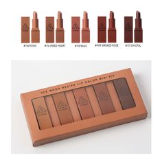 3CE Mood Recipe Lip Color Mini Kit (LIMITED QUANTITY) -- This is an Amazon Affiliate link. Read more reviews of the product by visiting the link on the image.