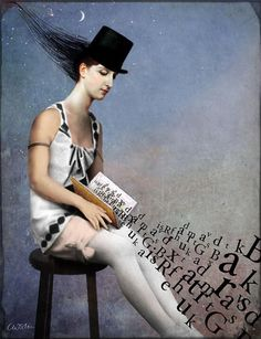 Mixed media Illustrations by Catrin Welz-Stein | Cuded