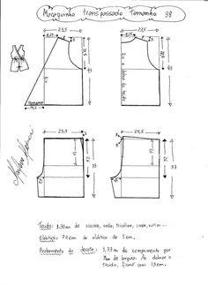 Dix-et-couture - marlene mukai Dress Sewing Patterns, Sewing Patterns Free, Sewing Tutorials, Clothing Patterns, Jumpsuit Pattern, Pants Pattern, Pattern Cutting, Pattern Making, Fashion Sewing
