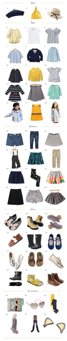 Our Favorite 48 Pieces for A Toddler Girl's Complete Wardrobe