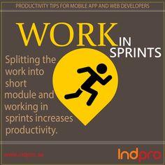 Productivity Tip.3 For  Developers http://www.indpro.se/our-offer/project/mobile-apps/ … #SoftwareDevelopment #WebDeveloper #MobileAppDeveloper
