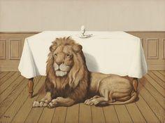 René Magritte (1898-1967) - Le Repas de noces, 1940