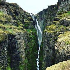 Glymur Waterfall, West Iceland. www.travelade.com