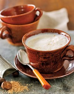 White Spiced Coffee. Cinnamon and cardamom heighten the aromatic appeal of this tasty coffee